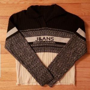 Vintage Kids Dolce & Gabbana Wool Sweater